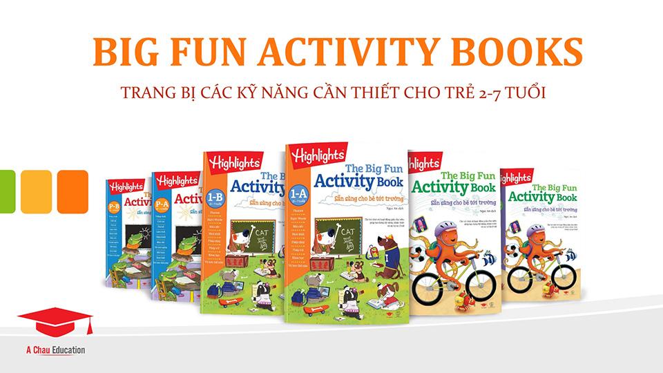 """BIG FUN ACTIVITY BOOKS - """"VUI CHƠI CÓ CHỦ ĐÍCH""""  CÙNG TRẺ"""