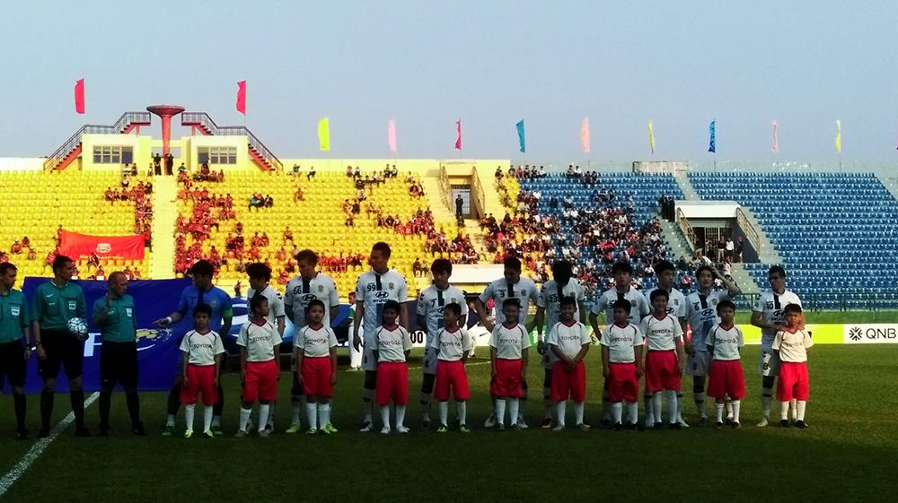 KHỞI ĐỘNG VÒNG BẢNG CÚP BÓNG ĐÁ CHÂU Á (AFC CUP) DIỄN RA TẠI VIỆT NAM