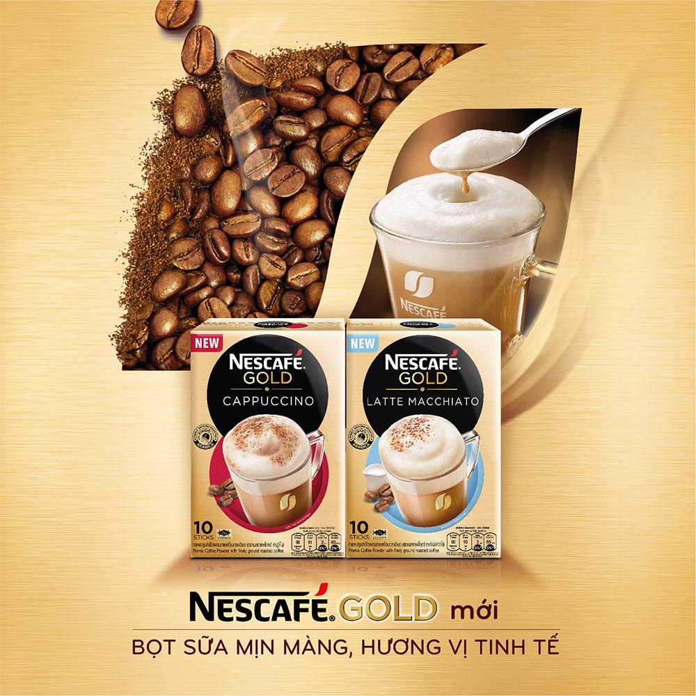 NESCAFÉ GOLD – CAFÉ HÒA TAN CAO CẤP CHO NGƯỜI TIÊU DÙNG VIỆT